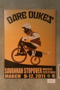 Savannah Stopover Festival Poster: Dare Dukes