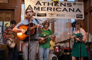 Dare Dukes + the Blackstock Collection at Athens Americana Festival 2011