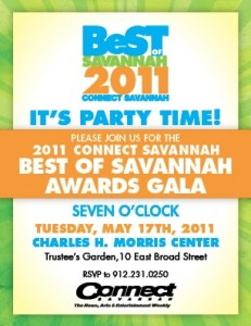 Connect Savannah's Best of Savannah 2011