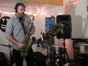 "TV on the Radio sax and clarinet player Peter Hess tracks for Dare Dukes' ""Mighty Love"""